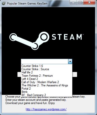 cs 1.6 steam keygen